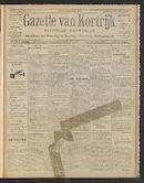 Gazette Van Kortrijk 1910-05-12 p1