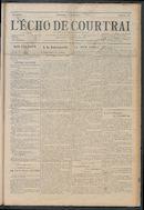 L'echo De Courtrai 1914-08-16 p1