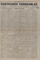 Kortrijksch Handelsblad 22 oktober 1946 Nr85 p1