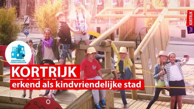 Promofilmpje Kortrijk kindvriendelijke stad