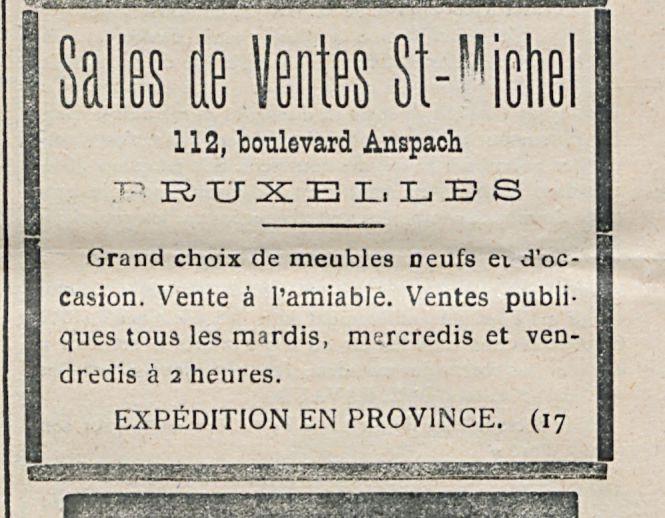 Salles de Ventes St-Michel