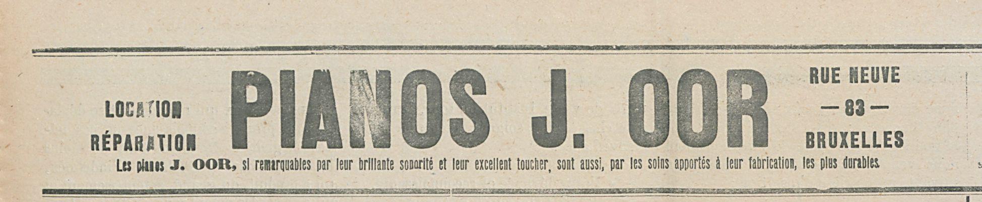 PIANOS J.OOR