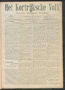 Het Kortrijksche Volk 1908-01-26 p1