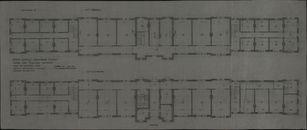 Bouwplannen van de Technische School, de Industrieschool, de Tekenacademie, de Hogere Technische Beroepsschool en de Weefschool te Kortrijk, 1892-1930