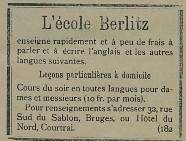 L'ecole Berlitz