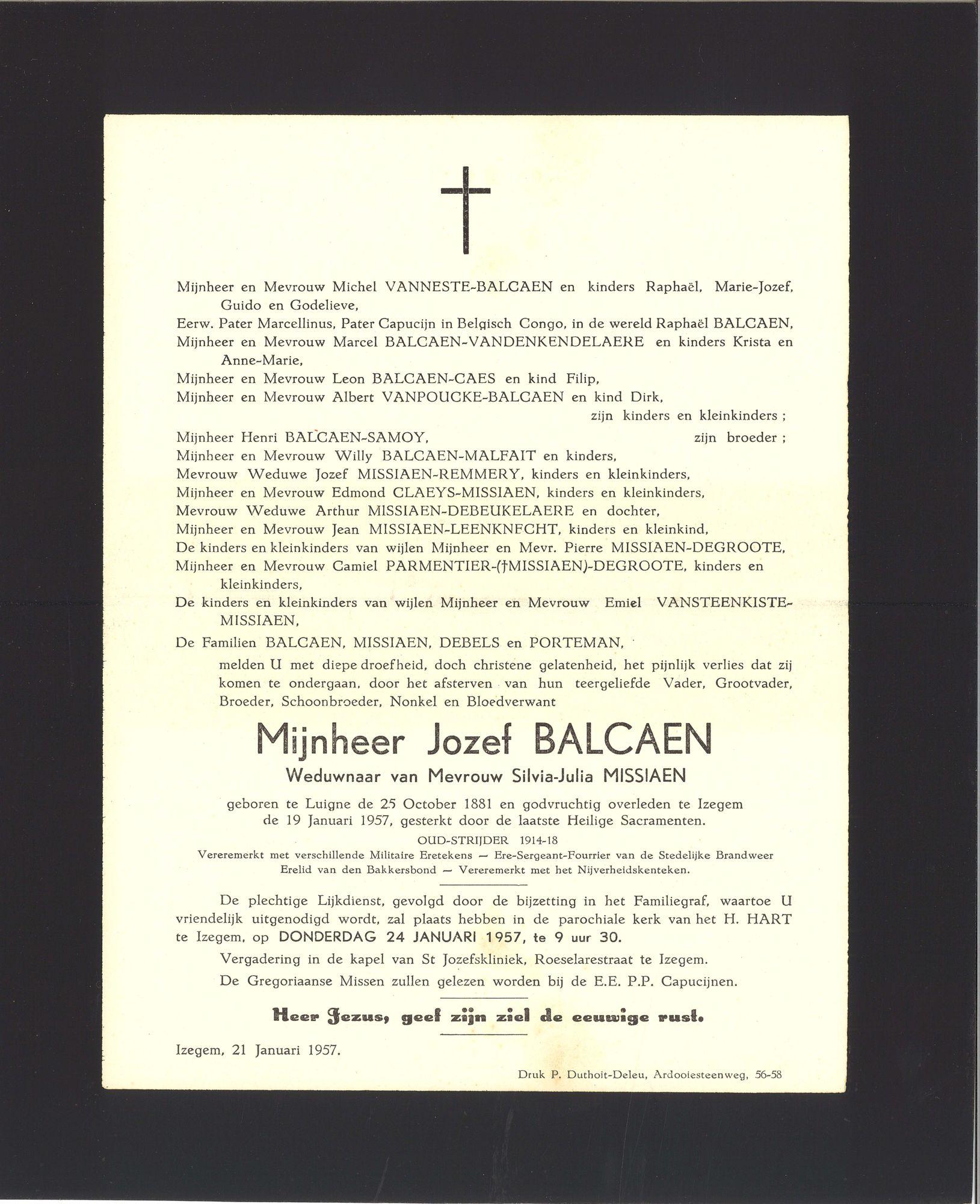 Jozef Balcaen