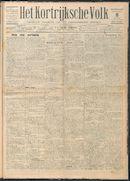 Het Kortrijksche Volk 1929-12-08 p1