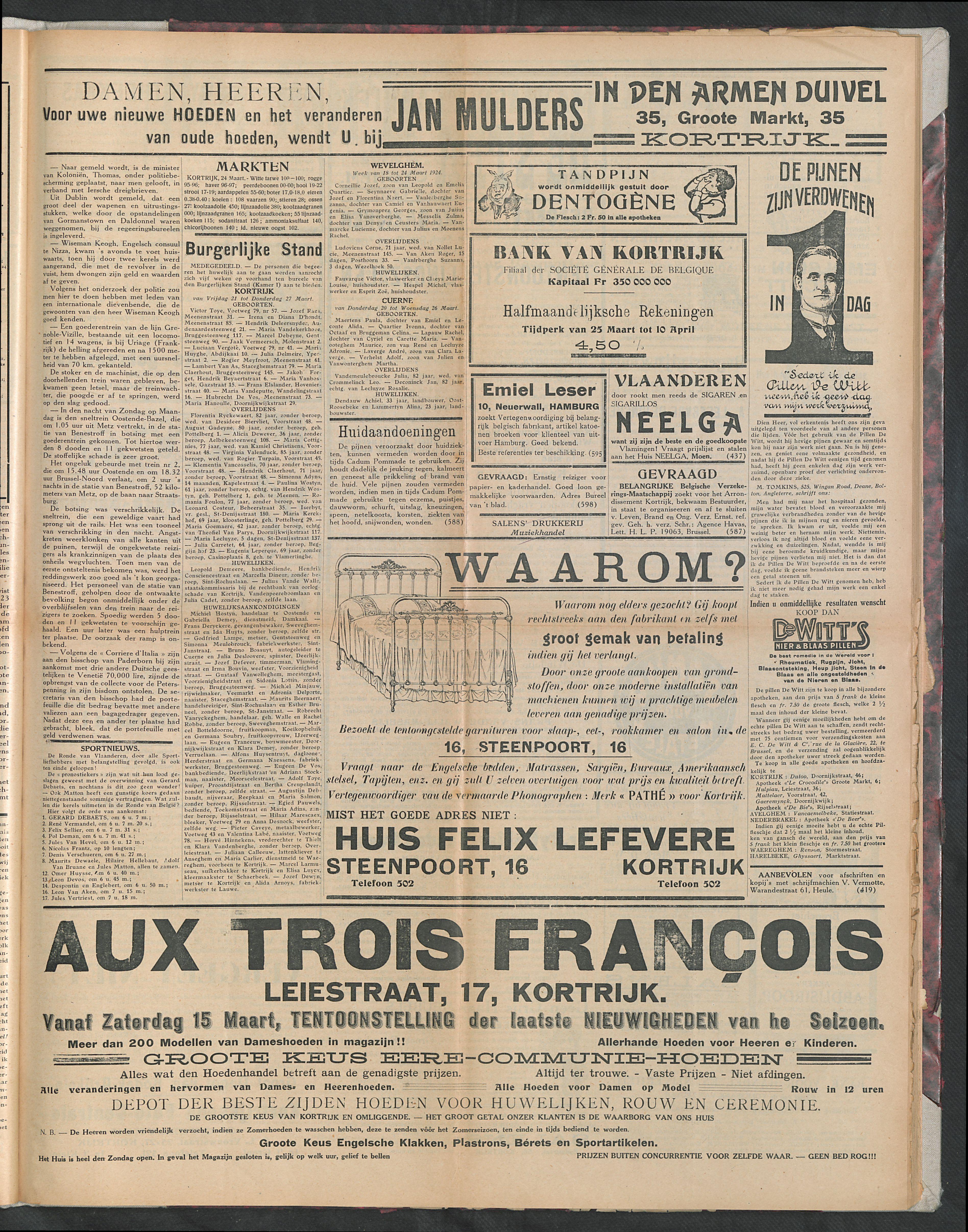 Het Kortrijksche Volk 1924-03-30 p3