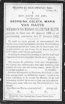 Van Haute Georgina-Coleta-Maria