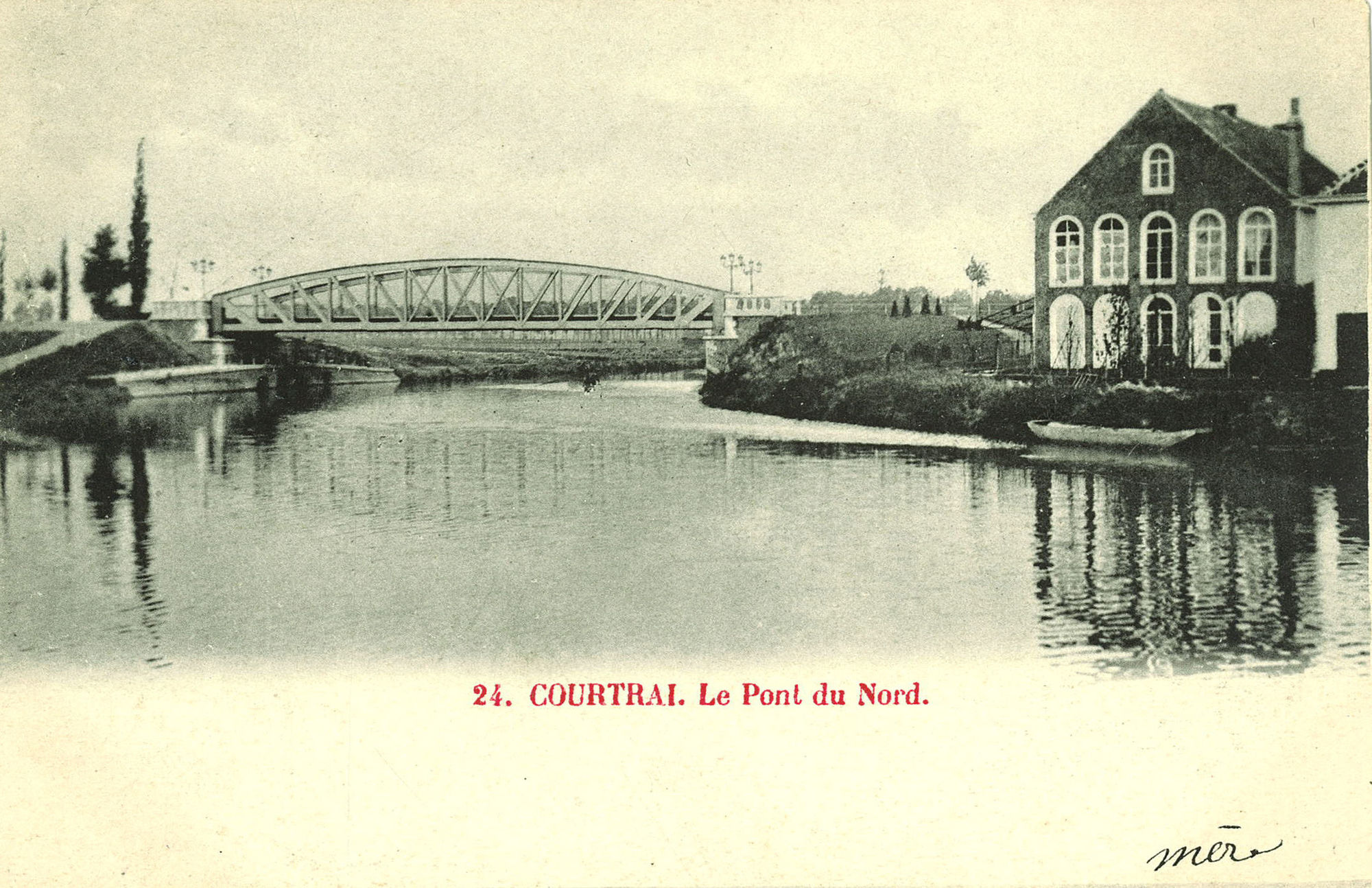 Groeningebrug begin 20ste eeuw