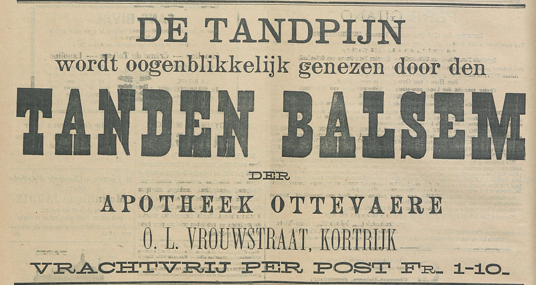 TANDEN BALSEM
