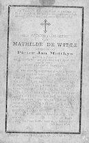 Mathilde De Witte