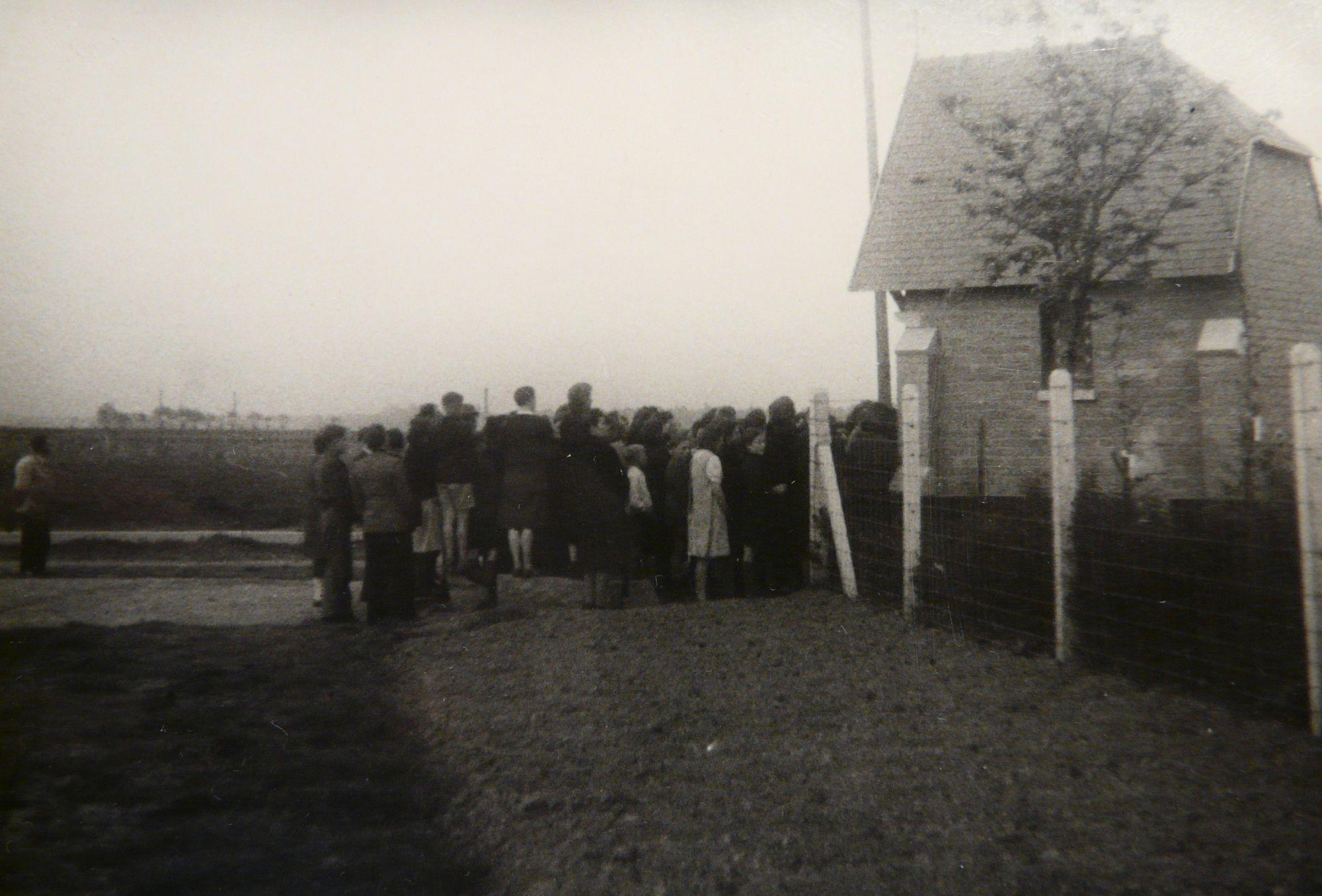 Bomkapel aan het Rootershof 1944