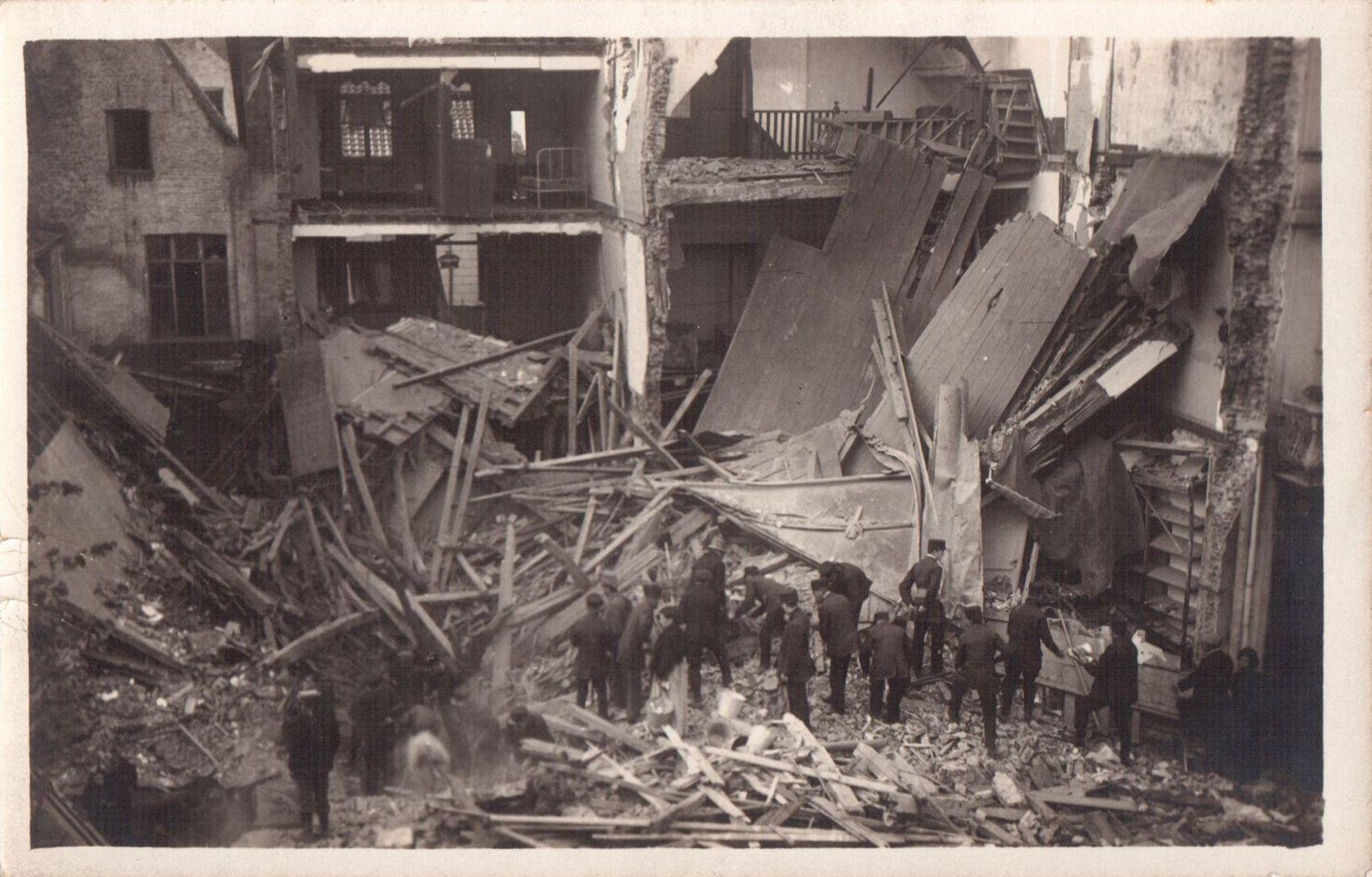 Rijselsestraat in 1917