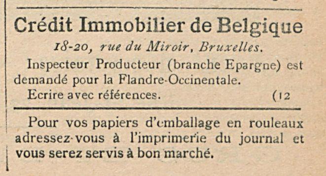 Credit Immobilier de Belgique