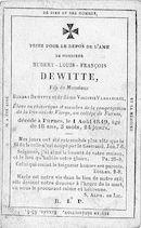 Hubert-Louis-François Dewitte