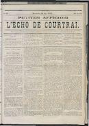 L'echo De Courtrai 1873-06-29 p1
