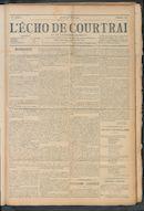 L'echo De Courtrai 1911-03-30 p1