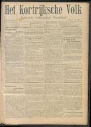 Het Kortrijksche Volk 1908-05-03 p1