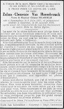 Van Haesebrouck Zulma-Clemence