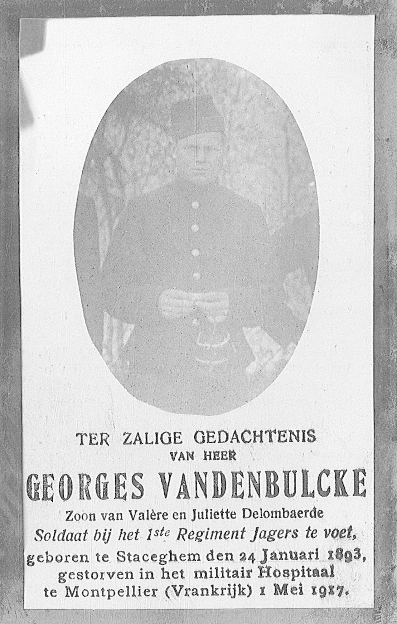 Vandenbulcke Georges