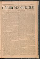 L'echo De Courtrai 1894-12-23 p1