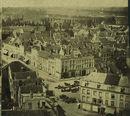 Foto genomen van op de toren van de Sint-Maartenskerk, richting Bissegem