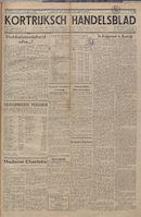 Kortrijksch Handelsblad 20 december 1944 Nr16 p1