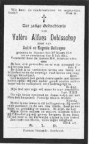 Debisschop Valère Alfons