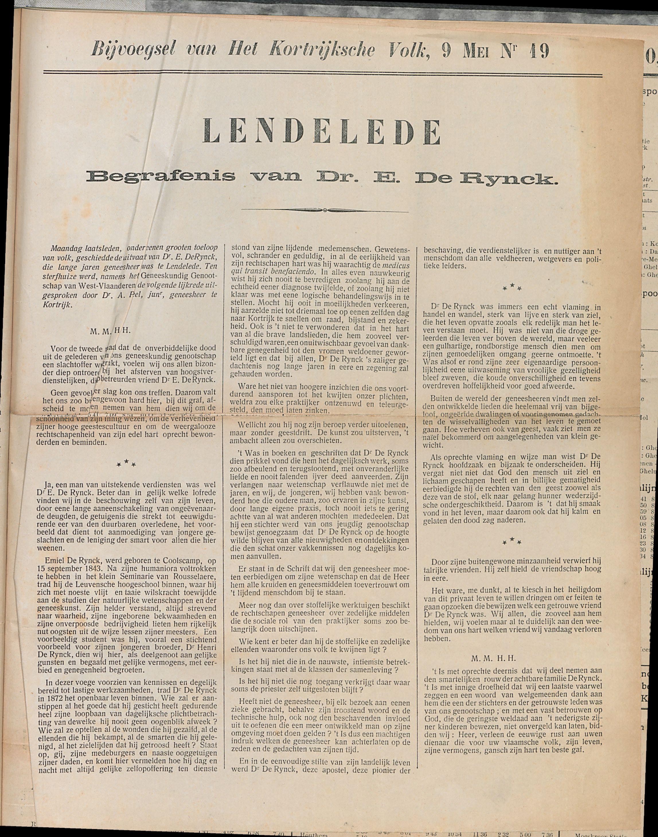 Het Kortrijksche Volk 1910-05-08 p3