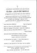 Elisa-Julia De Waele
