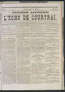 L'echo De Courtrai 1873-08-23