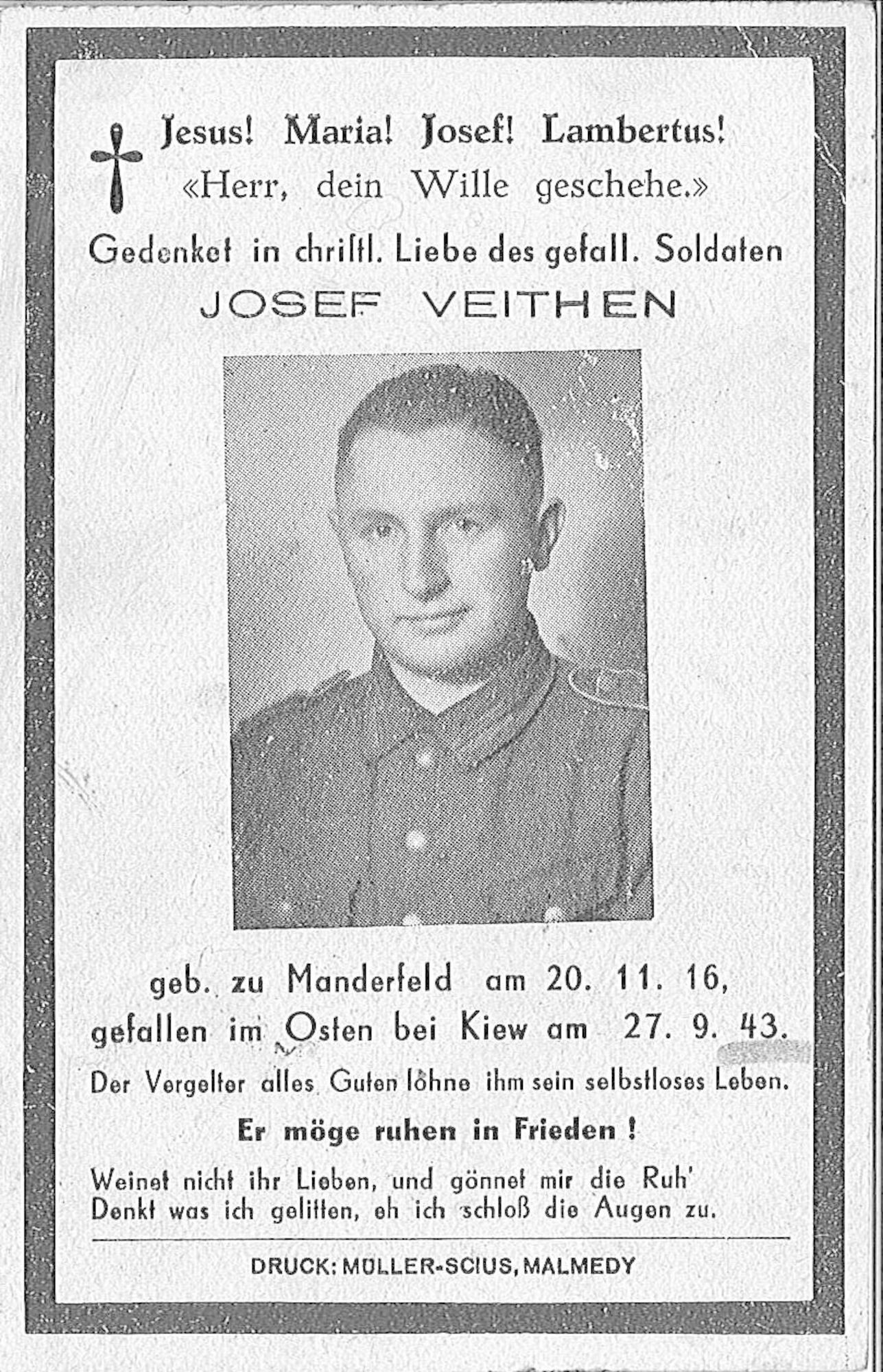 Josef Veithen