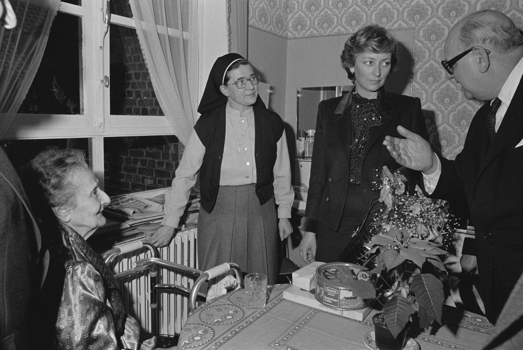 Bezoek prinses Paola in het Heilig Hart ziekenhuis