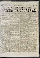 L'echo De Courtrai 1873-03-09