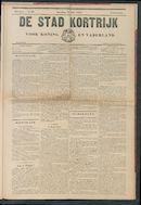 De Stad Kortrijk 1905-07-15