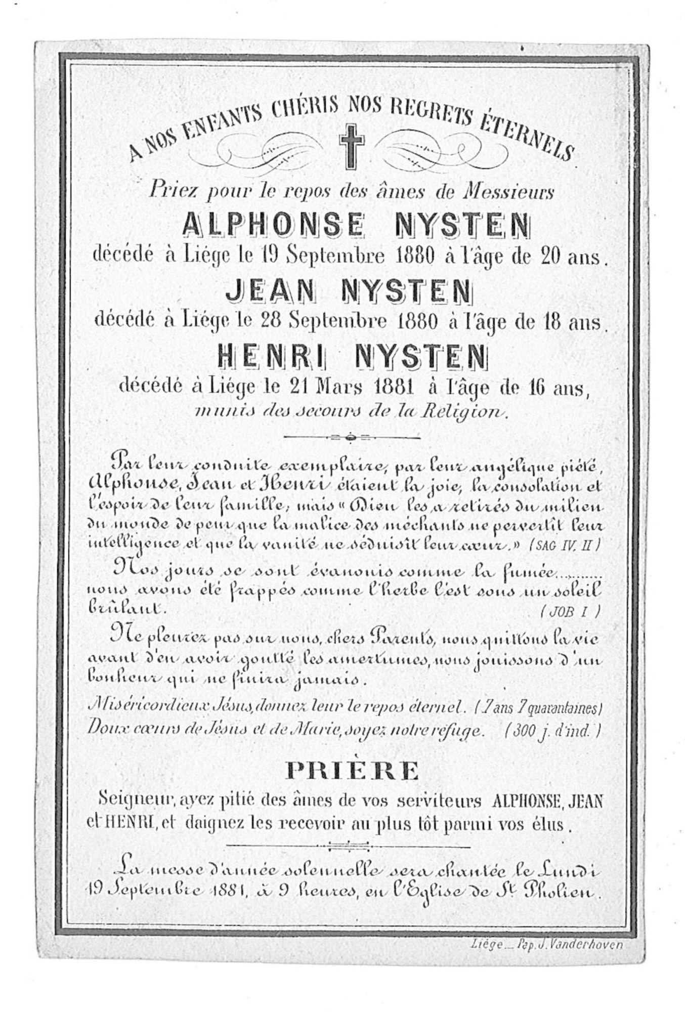 Alphonse Nysten