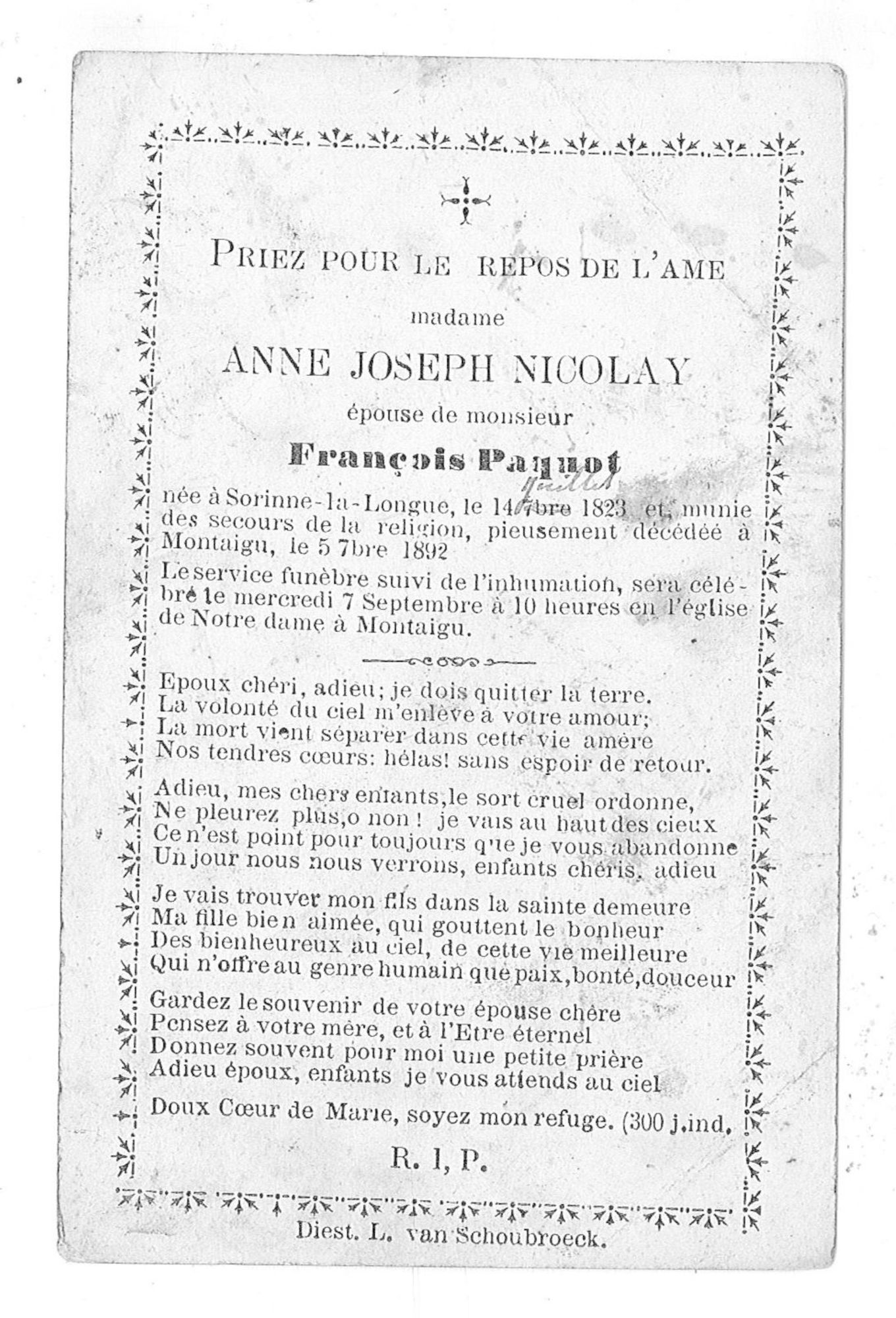 Anne-Joseph Nicolay