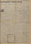 Kortrijksch Handelsblad 15 september 1945 Nr74