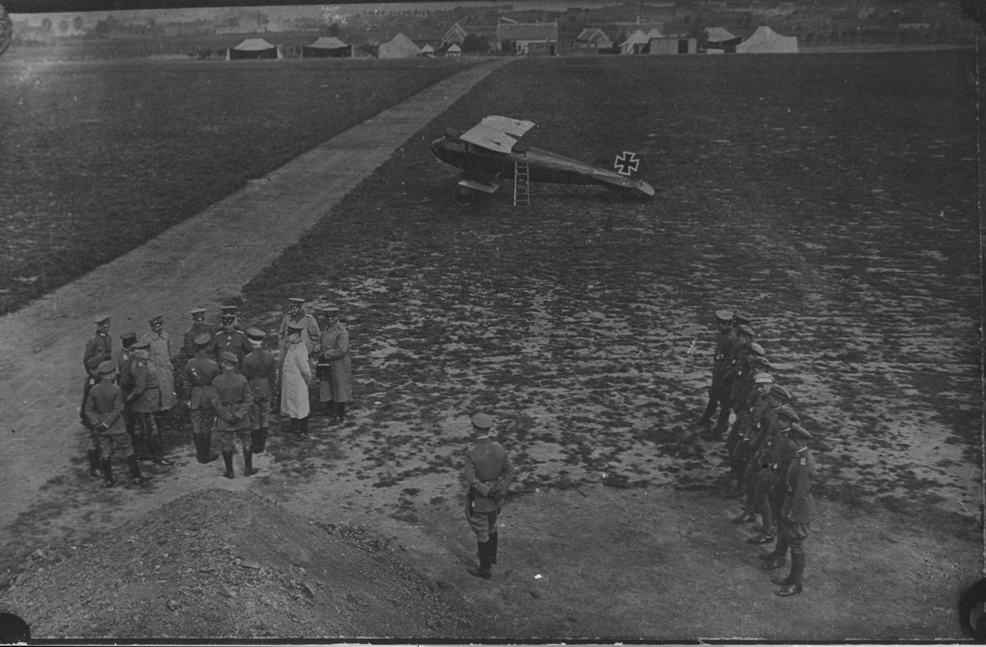 Vliegveld van Marke tijdens Wereldoorlog I
