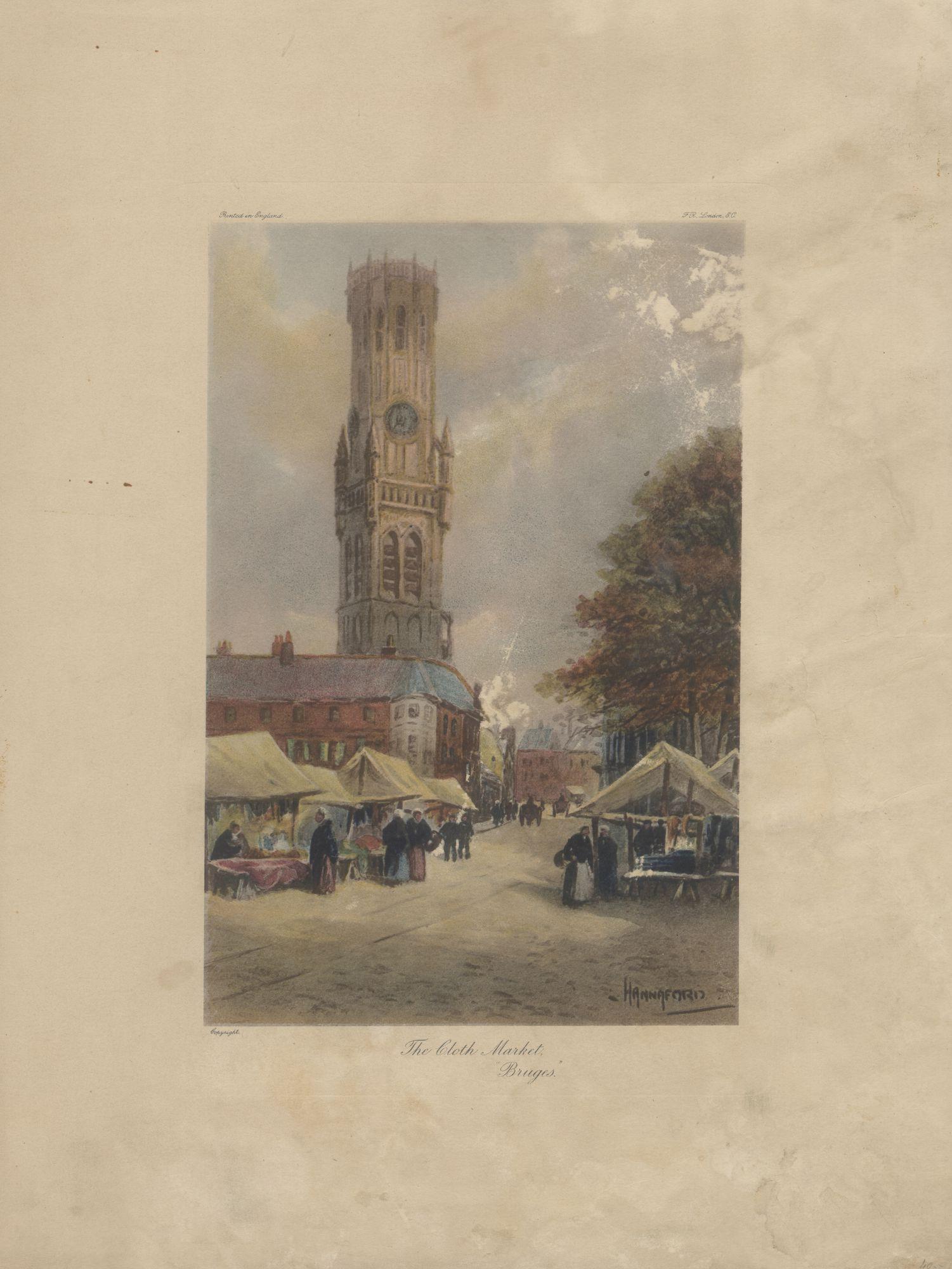 Westflandrica - Brugge, de katoenmarkt