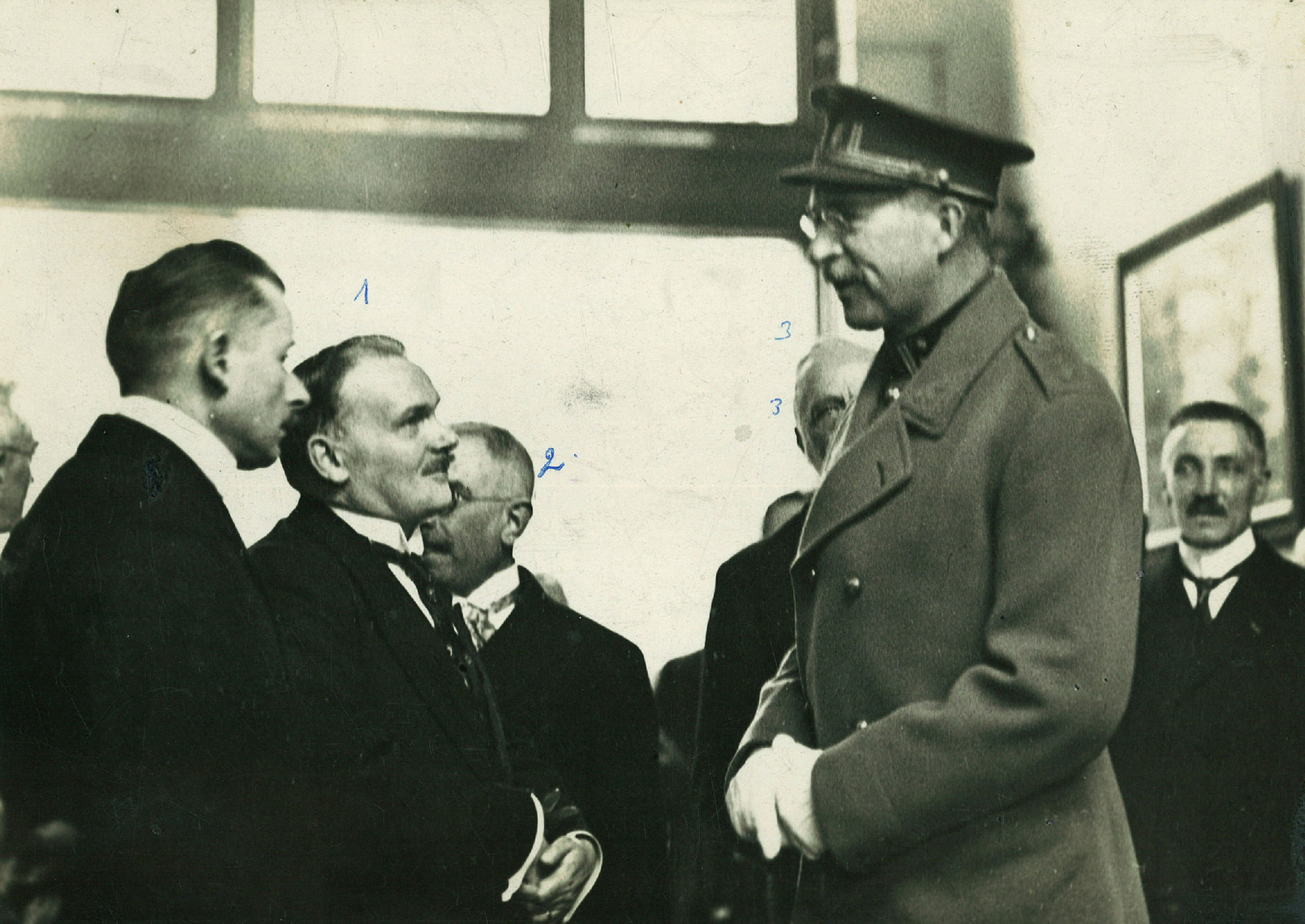 Bezoek van Koning Albert I aan de vakschool op 19 april1931