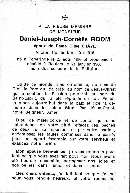 Daniel-Joseph-Cornélis Room