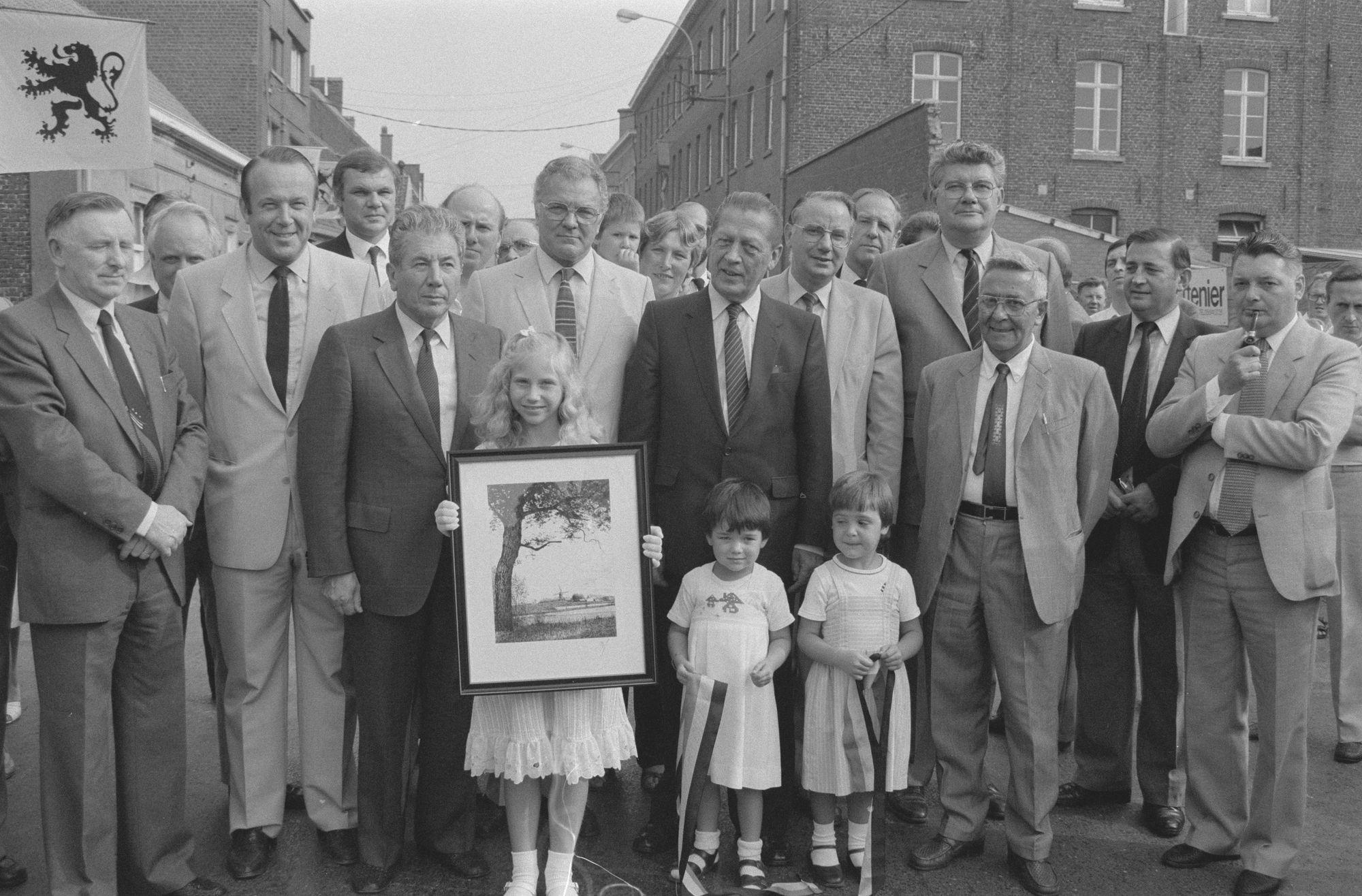 Feest in Aalbeke in 1982