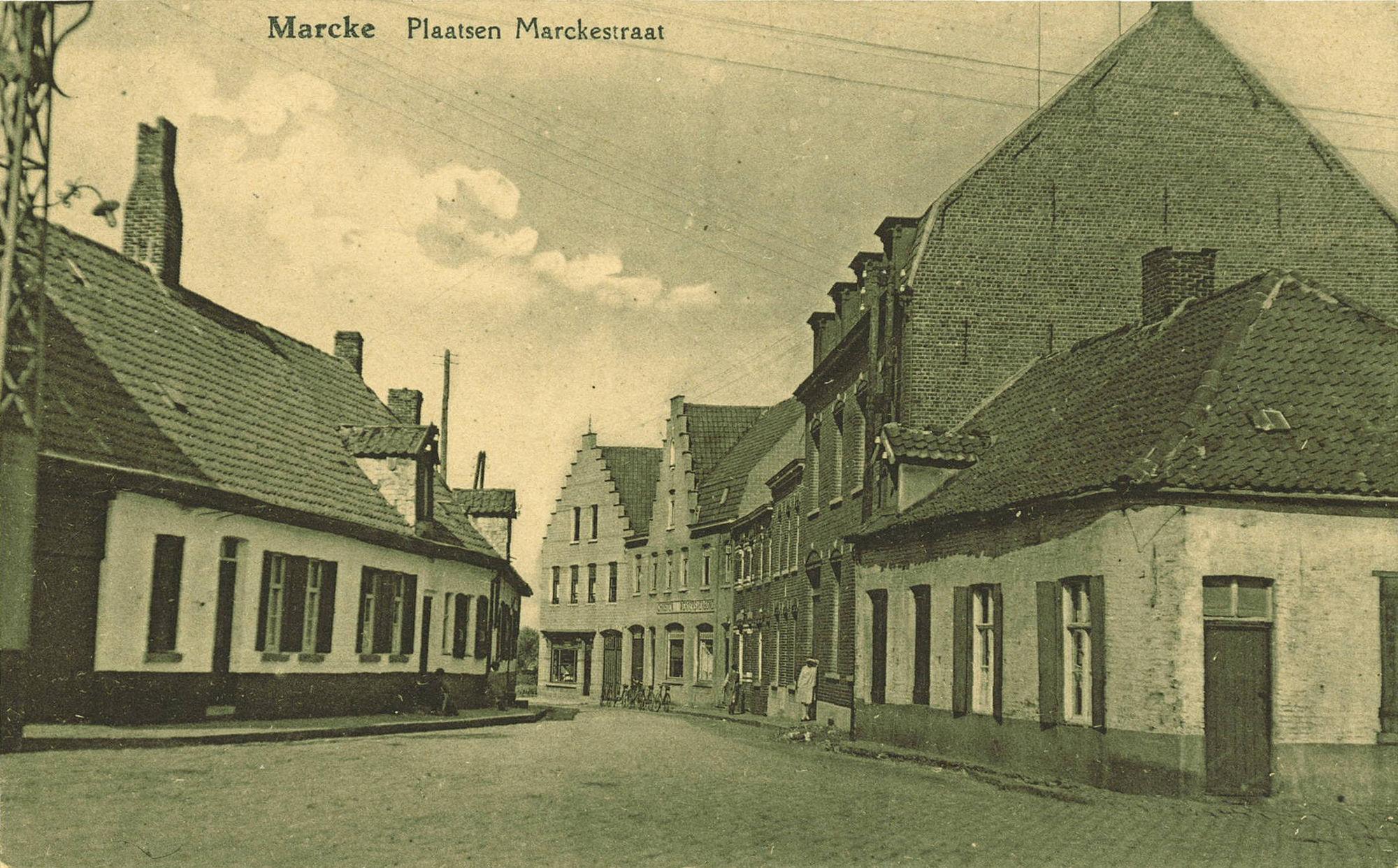 Marksestraat in Marke