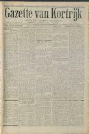 Gazette Van Kortrijk 1916-07-29