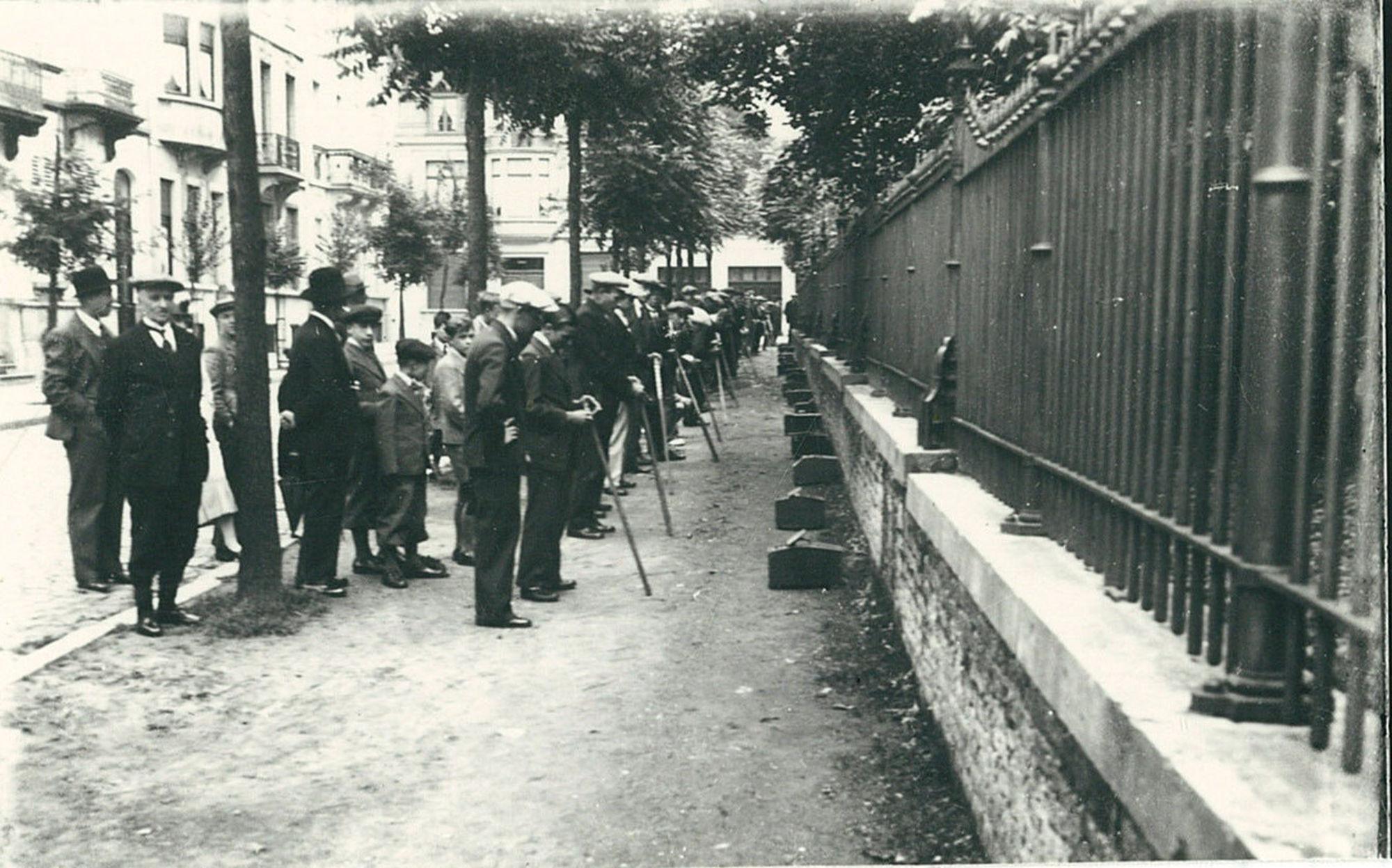 Vinkenzetting in 1935