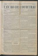 L'echo De Courtrai 1914-05-14