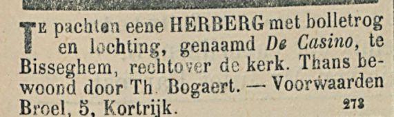 TE PACHTEN EENE HERBERG