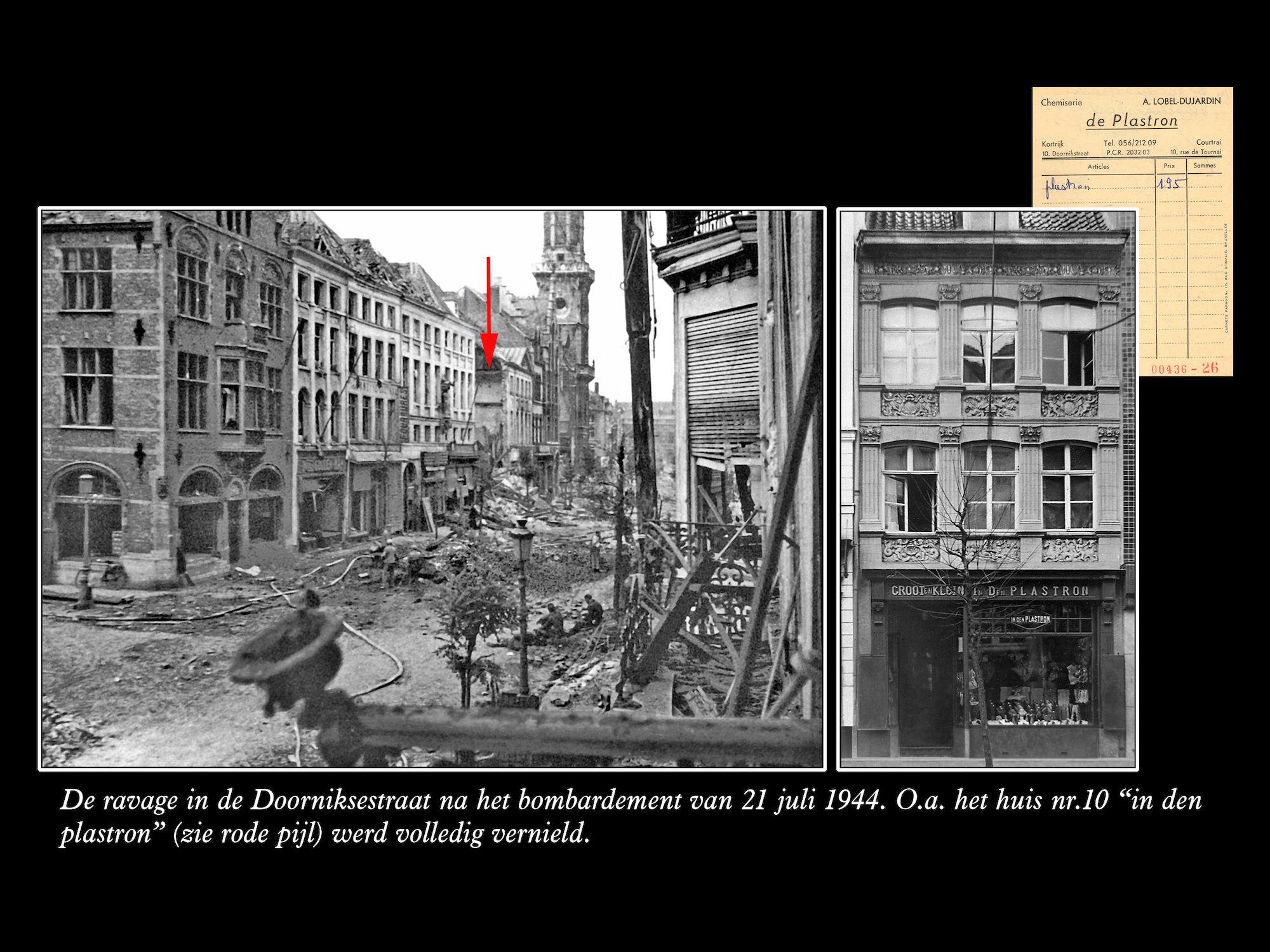 """""""In Den Plastron"""" juli 1944"""